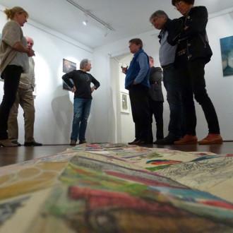 Künstlergespräch in der Galerie Augarde