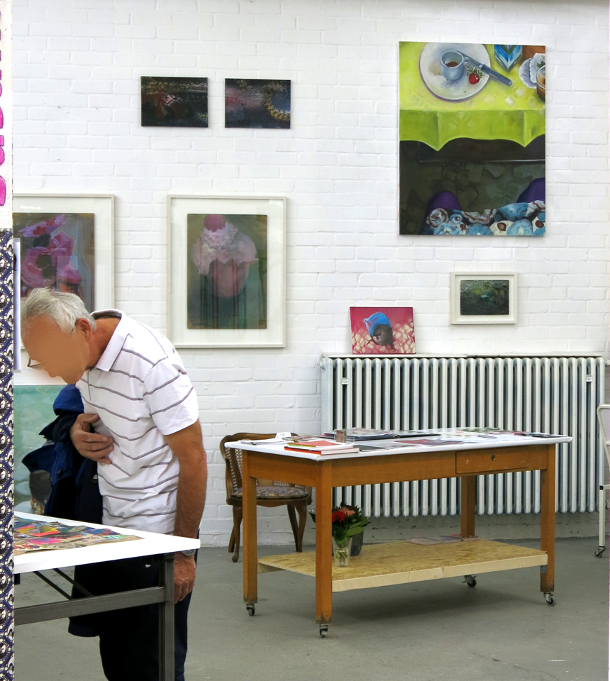Read more about the article Kunstpunkte 2014 / Off-Raum Flingern 15